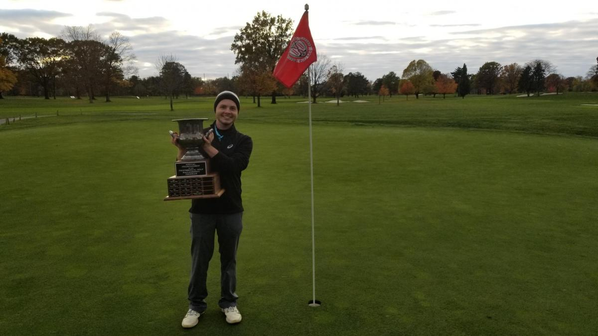 Sam Moore, OSU PGM Sophomore, wins PGM Club Championship