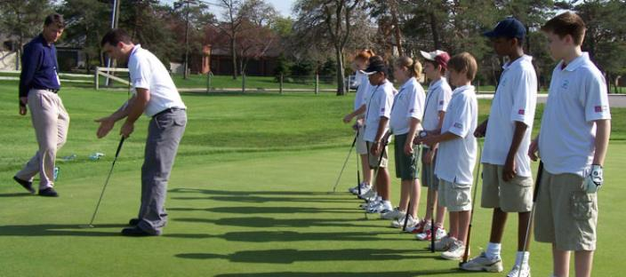 "OSU PGM teaching youth ""the game of life"" through the game of golf."